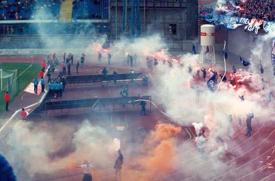Bad Blue Boys\/HNK Rijeka - NK Dinamo 28.07.2013. - YouTube